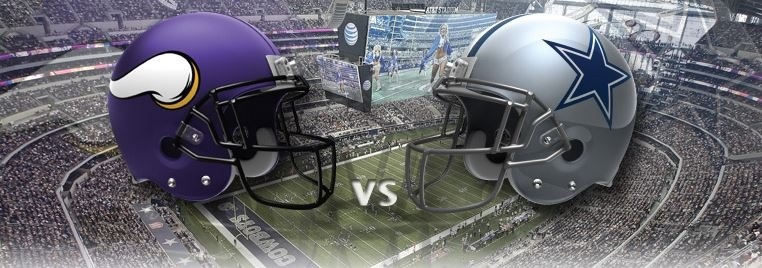 Vikings vs. Cowboys Game Day Specials!